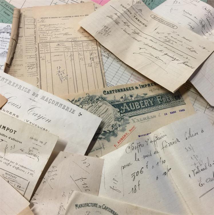 French Paper Bundles