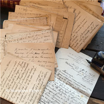 French Correspondence Pages