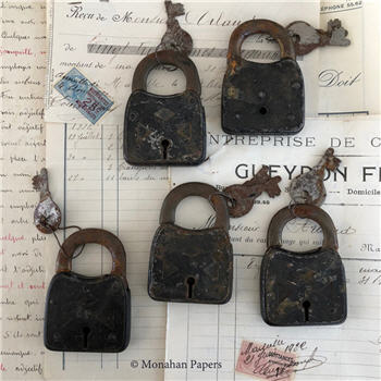 Antique French Locks with keys