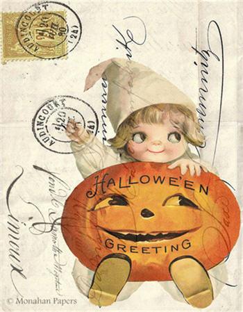 Halloween Greetings - H14
