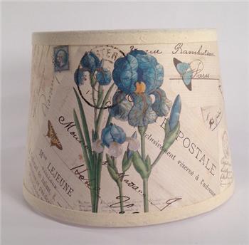 Blue Iris Lamp Shade - BOT35