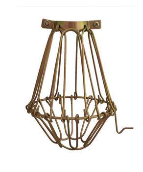 Metal Light Cage - Brass