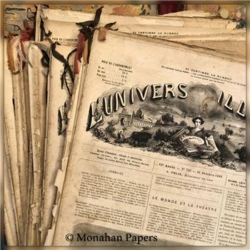 L'UNIVERS ILLUSTRE' - Ephemera