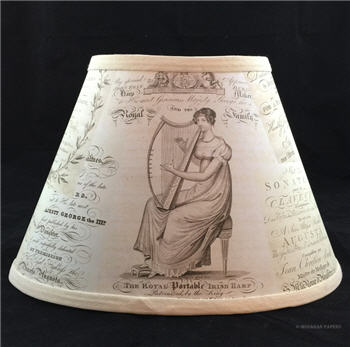 Oval Music Covers Lamp Shade - LSMOMUSCO