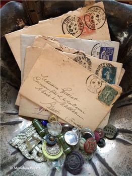 Assorted Handwritten Mini French letter