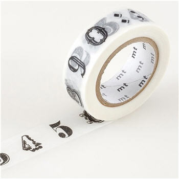 Number Washi Tape - NUMBERWT