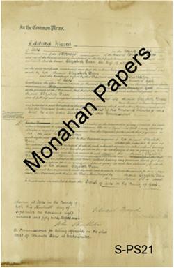 Edward Maud Paper Sheet