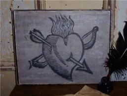 Rebecca Hale's Heart Canvas