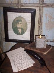 Abraham Lincoln Framed Portrait