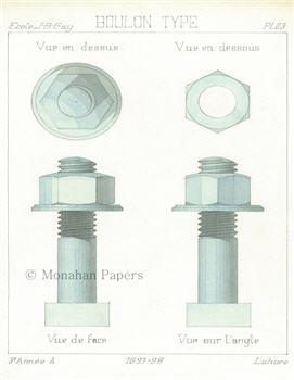 Boulon Type PL. 23 - SPS1034