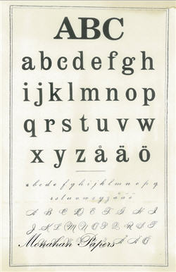 German Primer Alphabet - SPS128
