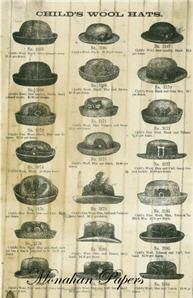 Child's Woolen Hats - SPS163