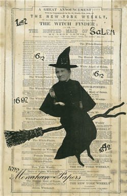 The Hunted Witch Of Salem - SPS210
