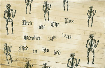 Died of the Pox Skeletons - SPS250