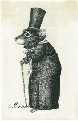Top Hat Mouse By Stacey Meade - SPS334