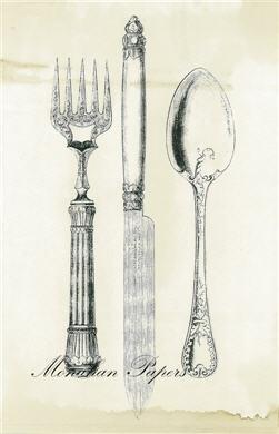 Knife Fork Spoon - SPS343
