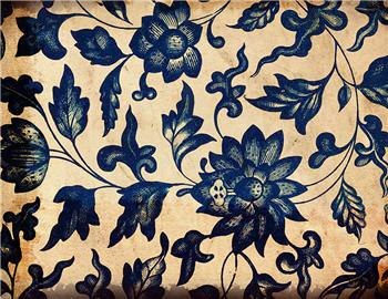 Blue Indigo Floral - SPS824