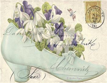 Shoe Florals - SPS916