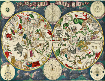 Celestial Map - SPS931