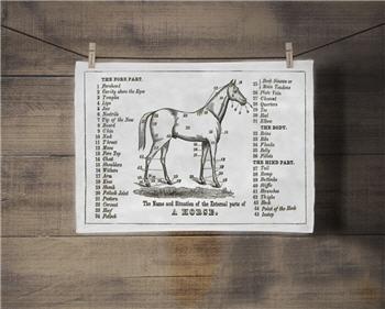 The Horse Tea Towel - SPS94TT
