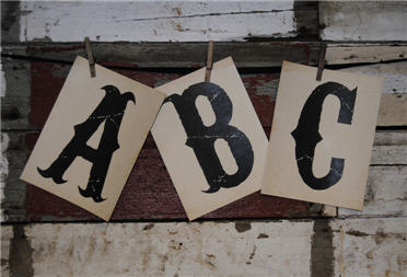 Traditional Letters