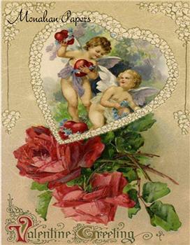Cupids Valentine Greetings - V10