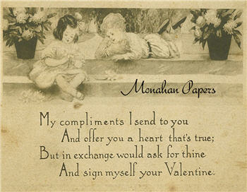My Compliments Valentines Card - V12