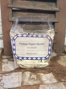 Vintage Paper Shreds - VP
