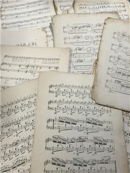 Antique Music Pages