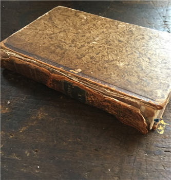 Antique French Book - Voltaire