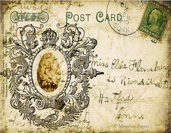 Miss Elsie Egg Post Card - X24