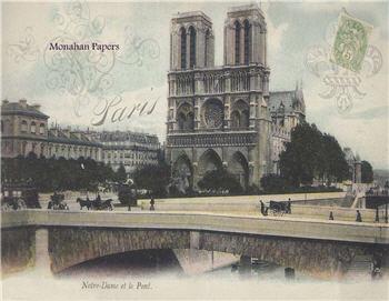 Notre Dame et le Pont - X304