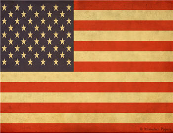 US 50 Star Flag - X370