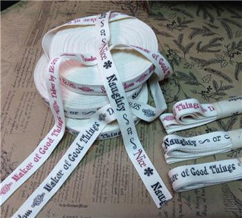 Holiday Cotton Ribbon